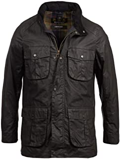 Barbour Lightweight Corbridge Wax Jacket (Black)