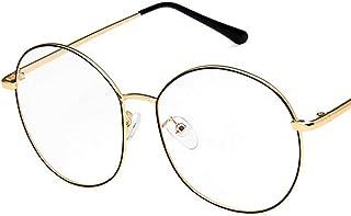 Unisex Glasses Frame Fashion Pink Polygon Full Frame Decoration Prescription Glasses