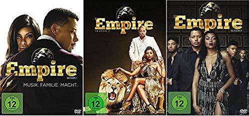 Empire - Musik. Familie. Macht. Staffel 1-3 (1+2+3) [DVD Set]