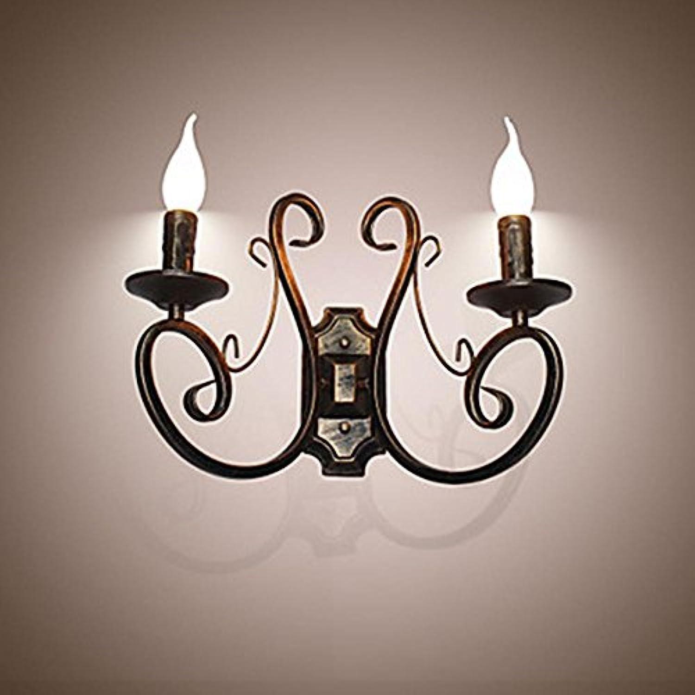 WYFC Neue Retro Dachboden amerikanischen Stil Retro Wand Lampe Schlafzimmer Lampe Wand Lampe Kerze Lampe . carmine