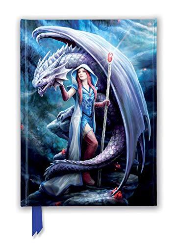 Anne Stokes: Dragon Mage (Foiled Journal) (Flame Tree Notebooks) (Premium Notizbuch DIN A 5 mit Magnetverschluss)