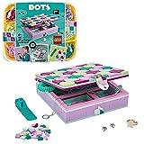 LEGO DOTS Box Gioielli con Elementi Decorativi, Decorazioni Cameretta Fai da Te, Kit Lavoretti Creativi per Bambini, 41915