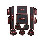 pour Mitsubishi ASX 13-15 Anti-Slip Porte Fente d'accès Emplacement Tapis du Coussin Kit de Voiture Slip Coupe Protection Mats Décoration Regard