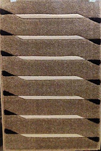 ACVILA Alfombra PIE DE Cama 80x150 cm Beige Modelo Soho 5586