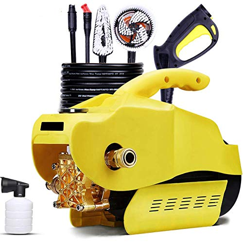 F DLJYY Elektrische inductiemotor, draagbaar, hogedrukreiniger, zelfaanzuigend met dubbel gebruiksdoel, voor huis tuin en wasmachine Een