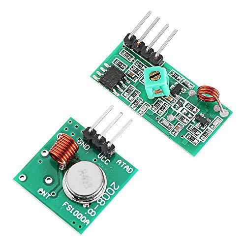 Smart Modul 433 MHz RF Decoder Transmitter mit Empfängermodul-Kit für ARM MCU Wireless für Arduino – Produkte, die mit offiziellen Arduino-Boards funktionieren.