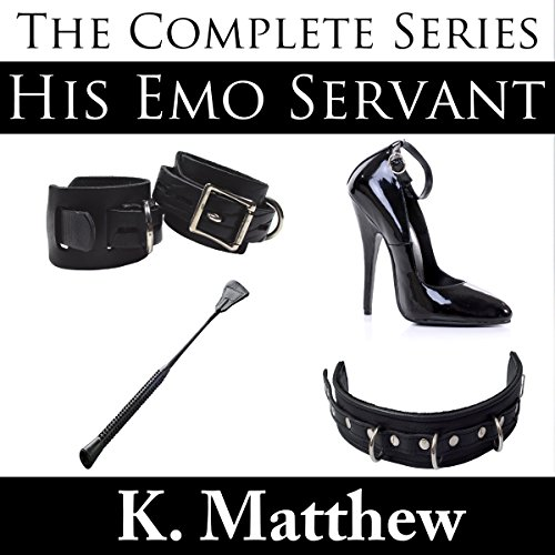 His Emo Servant audiobook cover art