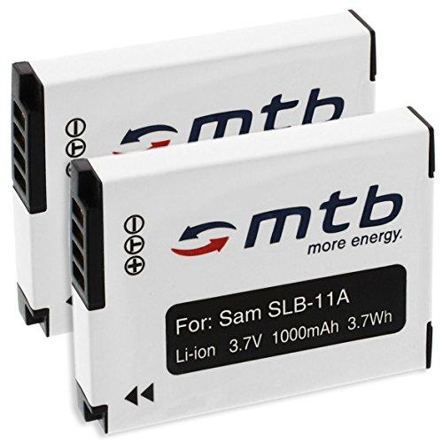 Fotocamera Caricabatteria Con LCD per Samsung SLB-11A ST1000 ST5000 ST5500