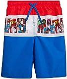 Marvel Boys Avengers Swim Trunk Shorts - Spiderman, Hulk, Captain America, Iron Man Superhero, Marvel Comics, Size 5/6