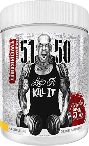 Rich Piana 5% Nutrition 5150 High Stim Pre-Workout Powder | Extreme...