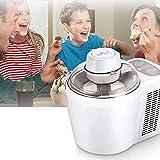 Gelatiera a compressore con 2 modalità Hard/Soft, Senza Pre-congelamento, Macchina per Il Gelato per la casa, Macchina per Dessert surgelati, Sorbetto Gelato Soft Frozen Yogurt