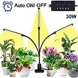 Lovebay Pflanzenlampe 30W 40 LEDs