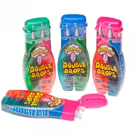 Warheads Sour Double Drops 1.01 FL OZ (30ml)