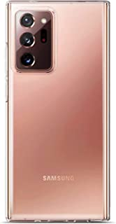 Samsung Galaxy Note 20 Ultra Transparent case cover | With Slightly raised edges for 360 Drop Protection, Anti Scratch, An...
