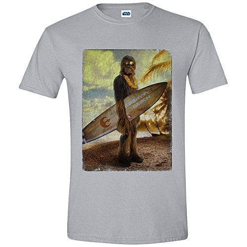 Star Wars T-Shirt, Mix Grigio, M Uomo