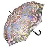 VON LILIENFELD Regenschirm Claude Monet: Seerosen Auf-Automatik Damen Kunst Blumen