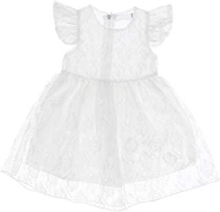 Distinguished Elegant Toddler Kids Baby Girls Summer Princess Dress Party Wedding Pageant Dresses,Size:4 Year,Colour:white...