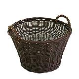 greemotion 363602 - Cesta para leña (salguera Blanca), Color marrón