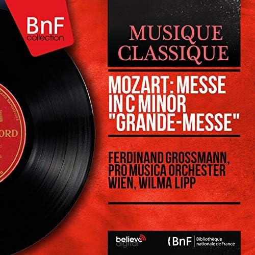 Ferdinand Grossmann, Pro Musica Orchester Wien, Wilma Lipp