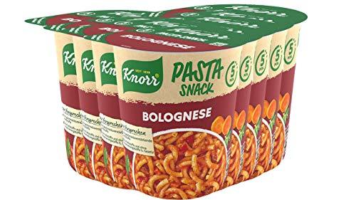 Knorr Snack Bar Spaghetti Bolognese, 8er Pack (8 x 68 g)