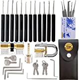 17-Piece Stainless Steel Multi-Function Tool Pick with 5-Piece Card Set
