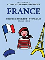 Coloring Book for 4-5 Year Olds (France)