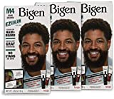 M4 Bigen EZ Color for Men Dark Brown - 3 Pack
