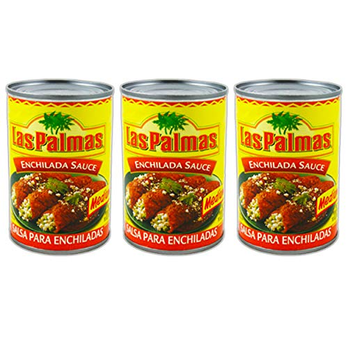 Las Palmas Red Chile Sauce, Medium, 10 Ounce (3 Pack Enchilada)