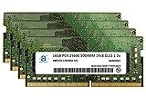Adamanta 64GB (4x16GB) Gaming Laptop Memory Upgrade DDR4 3200MHz PC4-25600 SODIMM 1Rx8 CL22 1.2v Notebook DRAM RAM