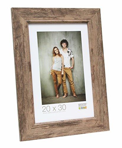 Deknudt Frames Bilderrahmen mit Aufsteller Farbe: Braun, Größe (Bild): 30 cm H x 24 cm B
