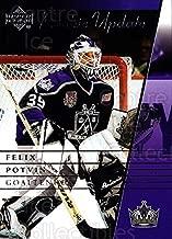(CI) Felix Potvin Hockey Card 2002-03 Upper Deck Rookie Update (base) 48 Felix Potvin