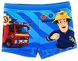 Feuerwehrmann Sam Badehose Beadeshorts (Hellblau, Größe 104)