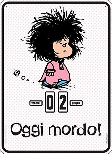 Mafalda. Oggi mordo pink. Calendario perpetuo