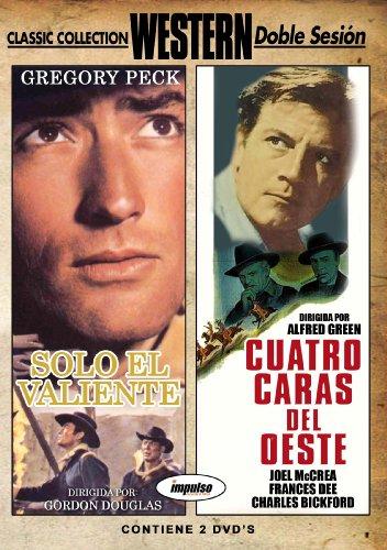 Solo el Valiente + Cuatro caras del Oeste [DVD]