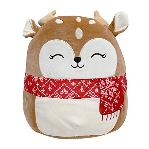 Asherhome 2021 NEW Christmas Squad Plush Toy Birthday Gift Holiday Animal ornaments 12inch