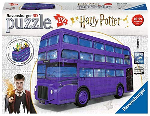 Ravensburger - Puzzle 3D Autobùs noctàmbulo Harry