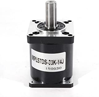 LFJD 30:1/40:1/100:1,Geared Speed Reducer, Nema 23 Planetary Gearbox,Stepper Motor for DIY CNC Mill Lathe Router 57mm, US Stock (30:1)