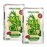 Maseca, harina de maíz para tortillas y productos típicos de la gastronomía mexicana, 'Sin Gluten' - Pack de 2 uds.