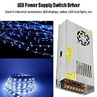 LED電源スイッチドライバー、LEDディスプレイ用産業オートメーション用ラジオ用閉回路テレビ用の安定した実用的な電源トランス(12V17A(200W), ピンク)