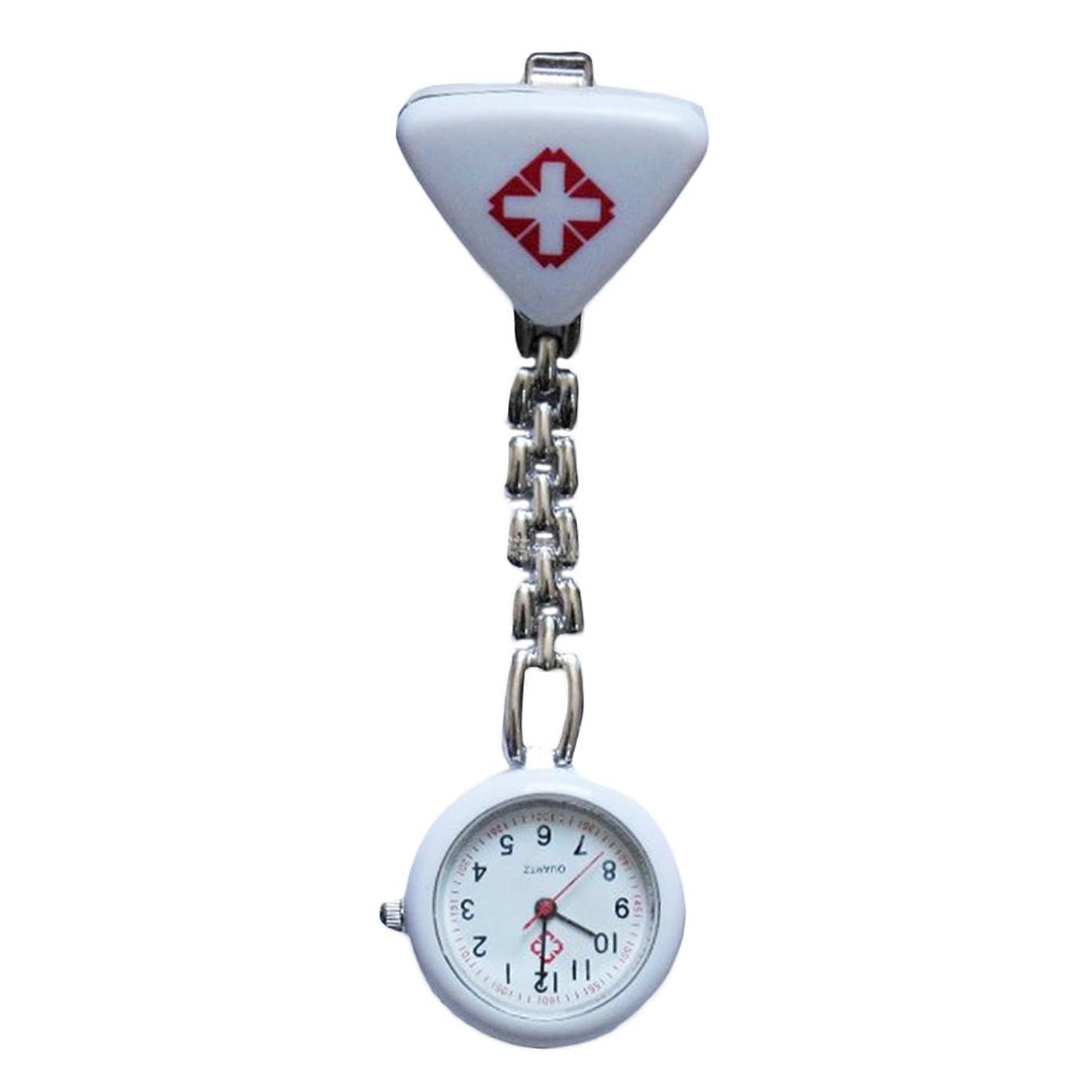 抱擁従順結核WangyueShop ナースウォッチ 看護師用 小型時計 ステンレスベルト 懐中時計 医療看護師 ウォッチ アナログ表示 男女兼用 WT