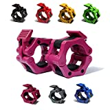 """Best Barbell Collars - AbraFit 2"""" Olympic Barbell Clamps - Solid ABS Review"""