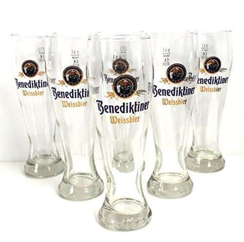 benediktiner Blanco cerveza cristal 0,5cerveza cristal cerveza vasos ~ MN 2250962