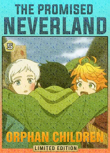Orphan Children: Book 5 New 2021 Adventure Media Tie-In manga Comic For Kids Great The Promised Neverland (English Edition)