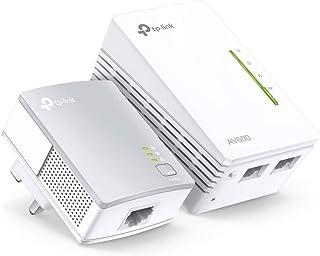 TPLINK 300Mbps AV600 Wi-Fi Powerline Extender Starter Kit TL-WPA4220KIT