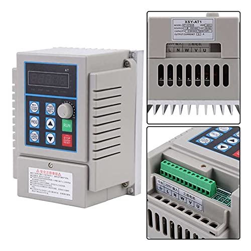 HAILAN-H Inverter 1pc0.75kW Variable Frequency Drive VFD Speed Controller Inverter Single Phrase for Motor Variable Frequency Drive