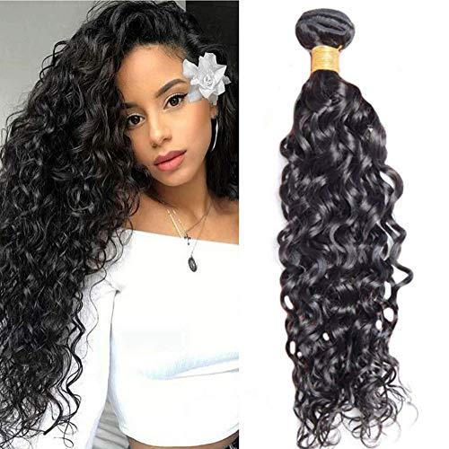 LaaVoo Human Hair Bundles 100gramo/pieza Remi Hair Weave Extension Pelo Natural Rizado Wave Cabello Remy Cortina Baratas 10pulgada/25cm