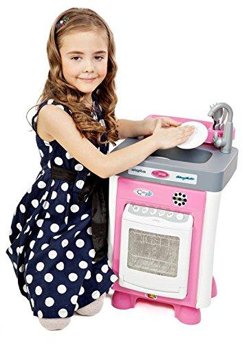 Polesie Spülmaschine Carmen mit Zubehör (Elektro)