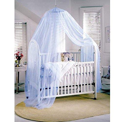 Butterme Dome Letto a Baldacchino del Reticolato Principessa Zanzariera per Neonati e Adulti (Blu)
