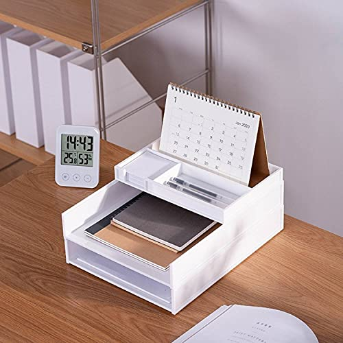 homdolaser 書類トレー 3段 レタートレー A4 縦型 書類整理 書類収納 卓上収納ラック 小物収納 ファイル収納 机上 デスクトレー 新聞/雑誌/A4ファイル/フォルダー/書類入れ 机上用品 整理整頓 アクセサリートレイ/ハーフアクセサリートレ