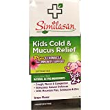 Similasan Kids Cold & Mucus Relief Syrup Plus Echinacea 4 oz (Pack of 2)
